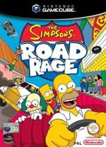 The Simpsons Road Rage GC cover