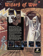 Wizard of Wor arcade flyer