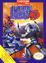 Mega Man 3 NES cover