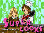 Super Cooks MSX2 title screen