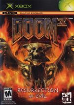 Doom 3 Resurrection of Evil-xbox