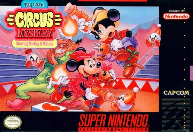 File:The Great Circus Mystery Starring Mickey And Minnie SNES cover.jpg
