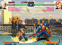 The King of Fighters 2002 arcade