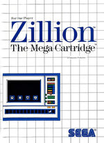 Zillion SMS box art