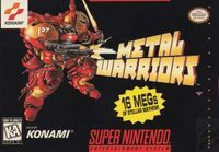Metal Warriors SNES cover