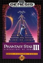 Phantasy Star III box US