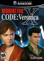 Resident Evil Code Veronica X GC cover