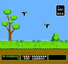 Duck Hunt NES screenshot