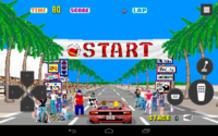 Out Run Android screenshot