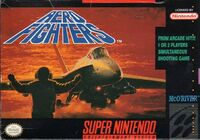 Aero Fighters SNES cover
