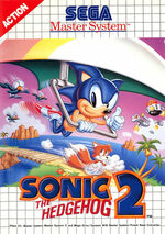 Sonic the Hedgehog 2 SMS box art