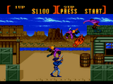 Sunset Riders SNES screenshot