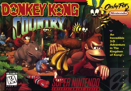File:Donkey Kong Country SNES cover.jpg