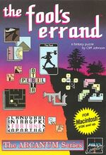 The Fool's Errand cover art (Macintosh)