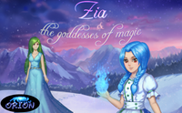 Zia and The Goddesses of Magic cover