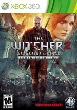 The Witcher 2 Xbox 360 cover