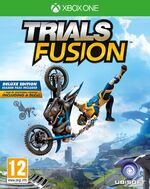 Trials Fusion Deluxe Edition Xbox One cover