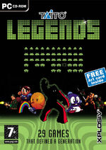 Taito Legends PC cover