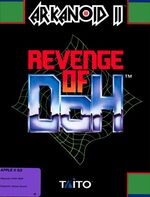 Arkanoid 2 Revenge Of Doh Apple IIGS cover