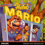 Hotel Mario CD-i Cover