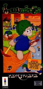 Lemmings 3DO cover