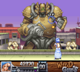 Wild Guns SNES screenshot