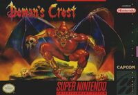 Demons Crest SNES cover
