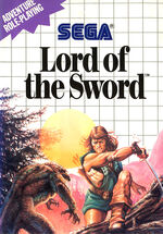 Lord of the Sword SMS box art