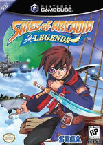 Skies of Arcadia Legends GC cover