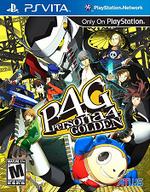 Persona 4 Golden PSVita cover
