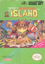 Adventure Island NES cover