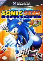 Sonic Gems Collection GC cover