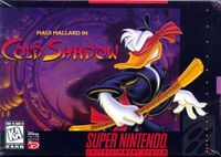 Maui Mallard In Cold Shadow SNES cover