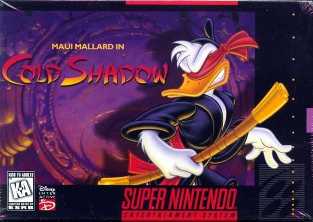 File:Maui Mallard In Cold Shadow SNES cover.jpg