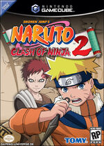 Naruto Clash Of Ninja 2 GC cover