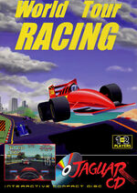 World Tour Racing Atari Jaguar CD cover