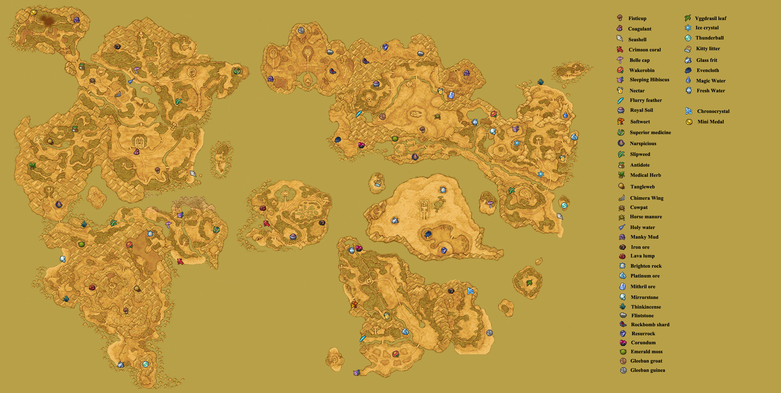 Dragon quest ix vs recommended games wiki fandom powered by wikia a location of materials on the overworld map gumiabroncs Images