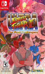 Ultra Street Fighter 2 Switch cover