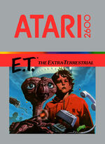 Atari 2600 ET box art