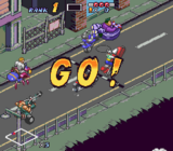 Biker Mice From Mars SNES screenshot