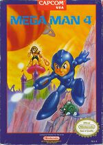 Mega Man 4 NES cover