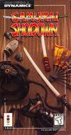 Samurai Shodown 3DO cover