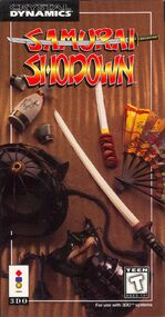 Samurai Shodown 3DO cover
