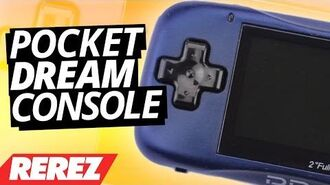 Super Small Pocket Dream Video Game Console - Rare Obscure or Retro - Rerez