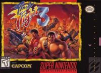 Final Fight 3 SNES cover