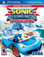 Sonic and All-Stars Racing Transformed PSVita cover