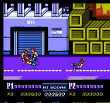 Double Dragon 2 - The Revenge (U) 001