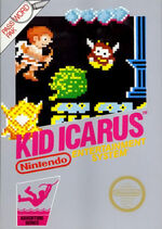 Kid Icarus NES cover
