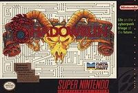 Shadowrun SNES cover