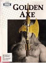 Golden Axe DOS cover